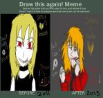 Draw Dis Sheet: Red Thread by QweXTheXEccentric