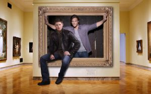 Dean and Sam Unframed by macfran