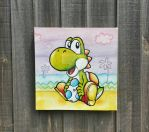 Yoshi's new island by spiraloutelle