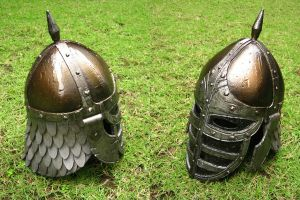 Skyrim Stormcloak Helm by renegadecow