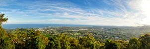 Coffs Harbour Panorama by AwakenendByDreams