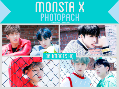 PHOTOPACK: MONSTA X (SHINE FOREVER) #2 by Yumi-chan19