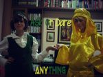 Ask Stephano and Mr. Chair Cosplay! by Ask-MrChair-Stephano