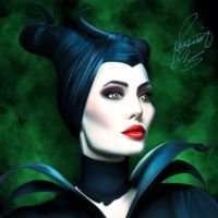 maleficent by Justinhotshotz