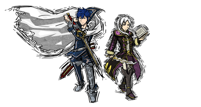 COMM: Chrom and Robin by Hawke525