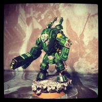 Tau XV-25 Stealth Suit by Darth-Solidus