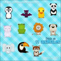Pack de Animales by LauraClover