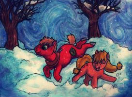 Winter Play by Kid-Kat