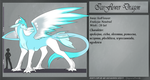 Ref Dragon: IceFlower by BajecznaMirra