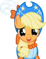 MLP Magical Mystery Cure Applejack vector by kapicator