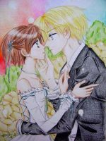 HaruhixTamaki...by melmoon by Ouran-High-School