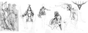 Substrata-Sketches-02 by Stephen-0akley