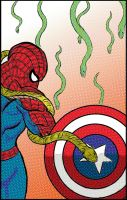 Spider Cap Snakey thang by wolfprime