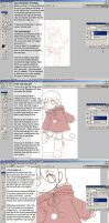 Photoshop Cel Shading Tutorial by celesse