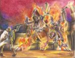 Kid icarus: Uprising - pit vs twinbellows by kaiser-nagai