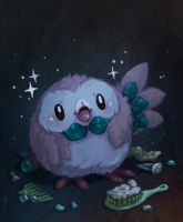 Rowlet Refresh by JoannaJohnen