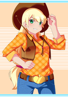 Apple Jack by R0cket-Cat
