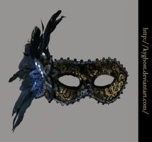 Masquerade Mask 01 by KYghost