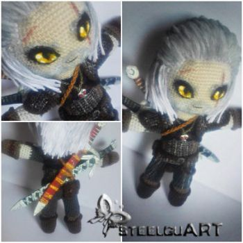 Geralt von Riva by Lyn-in-Chaos