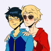 Dudes Being Dudes by LeijonNepeta