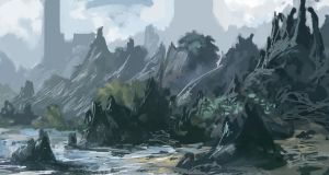 Environment Speed Paint 1 by Lyno3ghe