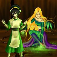 Toph and Cornelia - Earth by Berende