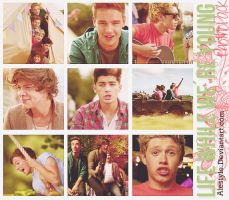 +Live While Were Young Pack de Fotos Hq. by AleStyle