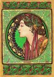 Mucha's Laurel by Niuta71