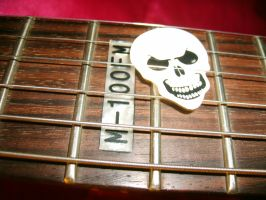 BC Rich Skeleton Pick by hexihash