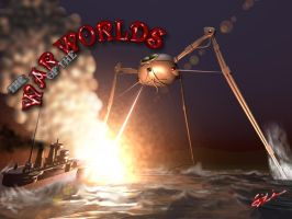 War of the Worlds by hobstob1818