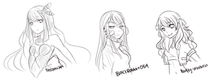 Bust Sketches by Yunisaki