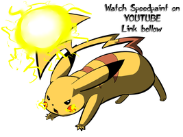 Pikachu doodle SAI-VIDEO LINK by Fly-Sky-High