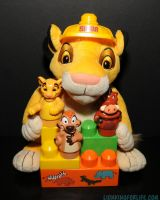 Lion King Bloks Build With Simba Plush by LionKingForLife