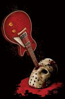 Friday The 13th Music Poster by ShannonTrottman