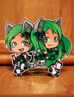 1st Paperchildren Commission for LilChaosKitten by SylwiaPakulska
