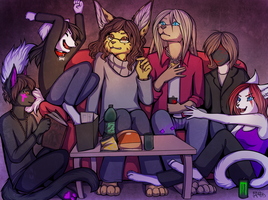 RPG Evening by Neko-Maya