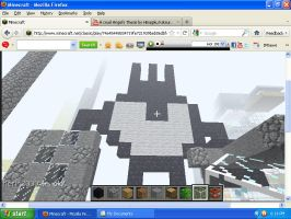 i made patapon in minecraft by yaridacool