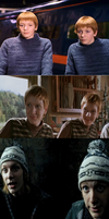 Fred and George by 13Vampirella