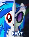 MLP - Two Sides of Vinyl Scratch by TehJadeh