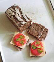 sourdough rye bread by grezelle