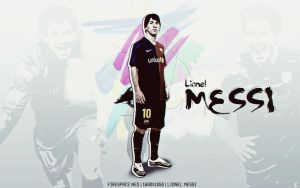 Messi|1680x1050|Wallpaper made Firespace NEO by firespaceneo