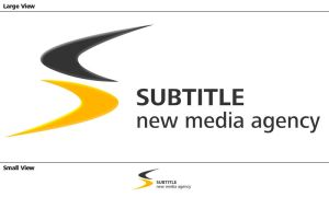 new subtitle logo by iscott