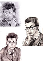 David Tennant's Tenth Doctor Montage by AlyssaMS