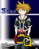 Kingdom Hearts: Sora Re-make by Superjustinbros