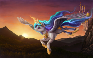 Celestial Grace by Bra1nEater