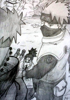 Kakashi stops Pein by TeamMinato