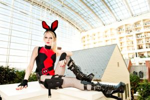 Bunnysuit Deadpool by MurderNurse