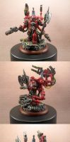 Blood Angels Tech Marine by HomeOfCadaver