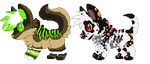 :G:Plasma and gh0st Chibi Pixels: by Vinabe
