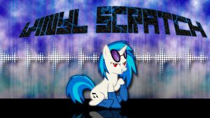 Vinyl Scratch Socks Wallpaper by ALoopyDuck